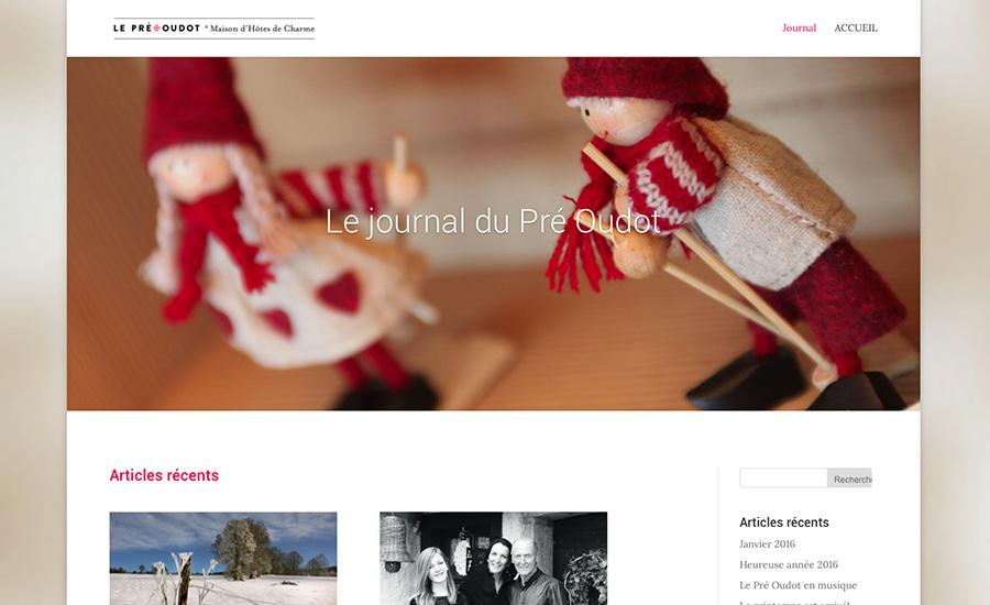 Le journal du Pré Oudot