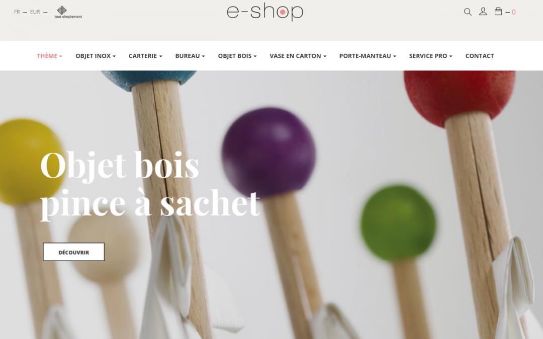 Boutique e-shop